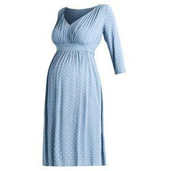 MAMALICIOUS MLKARIN 3/4 KNEE LENGHT DRESS Sukienka letnia ashley blue