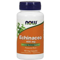 Now Foods Echinacea 400 mg 100 kapsułek