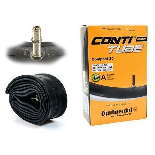 Opony i dętki do roweru, CO0181211 Dętka Continental Compact 20'' x 1,25'' - 1,75'' wentyl auto 34 mm