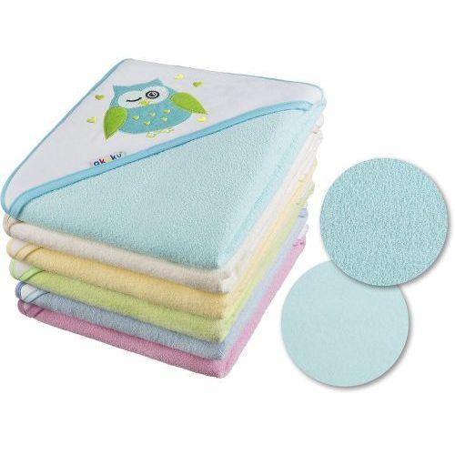 Okrycia kąpielowe, Okrycie kąpielowe 80x80 ręcznik z kapturkiem - kolory