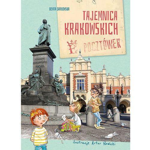 Książki dla dzieci, Tajemnica krakowskich pocztówek - BEATA SARNOWSKA (opr. broszurowa)