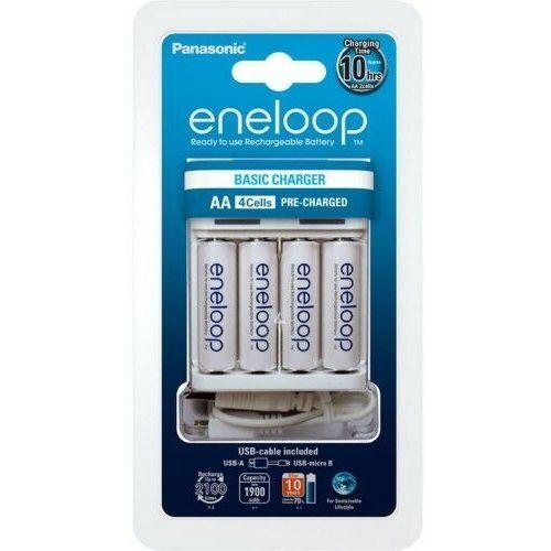 Pozostałe zasilanie do aparatów, Panasonic Eneloop BQ-CC61 + 4 x R6/AA Eneloop 2000mAh