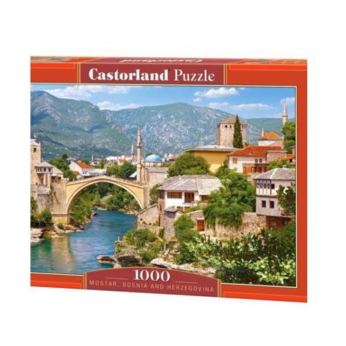 Puzzle, CASTOR 1000 EL. Mostar Bośnia Hercegowin