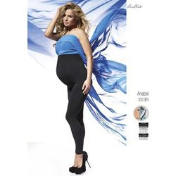 Legginsy Bas Bleu Anabel ciążowe 200 den Polar ROZMIAR: 2-S, KOLOR: czarny/nero, Bas Bleu
