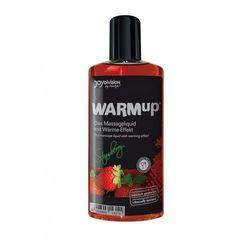 Rozgrzewający żel do masażu WARMup Strawberry 150 ml 143144
