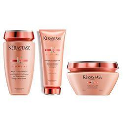 Kerastase Fluidealiste - zestaw dyscyplinujący włosy: szampon + odżywka + maska 250+200+200ml