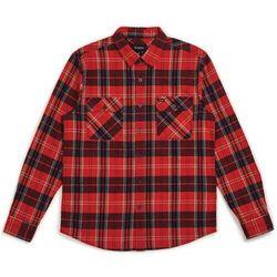 koszula BRIXTON - Bowery L/S Flannel Red/Navy (RDNAV) rozmiar: M