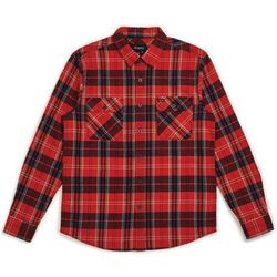 koszula BRIXTON - Bowery L/S Flannel Red/Navy (RDNAV) rozmiar: XXL