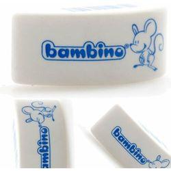 Gumka myszka biała BAMBINO