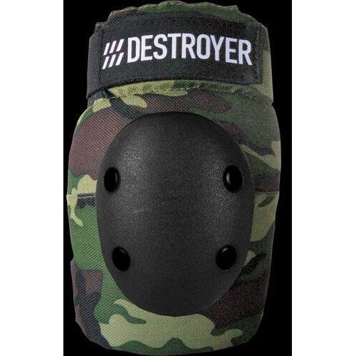 Ochraniacze na ciało, ochraniacze na łokcie DESTROYER - Pro Elbow Camo (CAMO) rozmiar: S