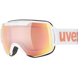 UVEX Downhill 2000 CV Gogle, white mat/colorvision rose energy 2019 Gogle narciarskie