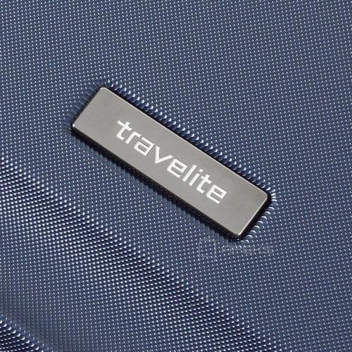 Torby i walizki, Travelite City średnia walizka poszerzana 68 cm / granatowa - granatowy ZAPISZ SIĘ DO NASZEGO NEWSLETTERA, A OTRZYMASZ VOUCHER Z 15% ZNIŻKĄ