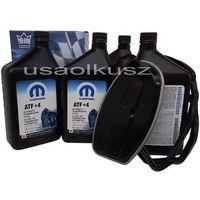 Filtry oleju do skrzyni biegów, Olej MOPAR ATF+4 oraz filtr automatycznej skrzyni biegów NAG1 Dodge Durango 2011-