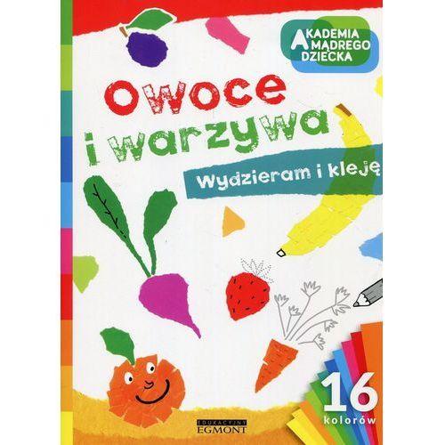 Książki dla dzieci, Owoce i warzywa (opr. miękka)