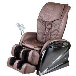 Fotel do masażu inSPORTline Sallieri czarny - Kolor Ciemny brązowy