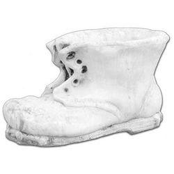 Donica z kamienia w kształcie buta