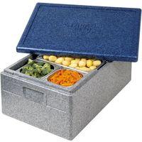Kosze i pojemniki gastronomiczne, Pojemnik termoizolacyjny z polipropylenu GN 1/1 200 mm | THERMO FUTURE BOX, 056200