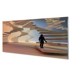 Panel Szklany Schody 3d
