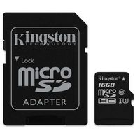 Karty pamięci, Karta MicroSD Kingston 16GB (SDC10G2/16GB)