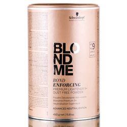 Schwarzkopf Blond Me Bond Enforcing Premium Lift 9+   Rozjaśniacz w proszku 450g