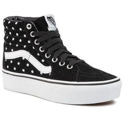 Sneakersy VANS - Sk8-Hi Platform 2 VN0A3TKNTCB1 (Suede Polka Dot)Blktrwht