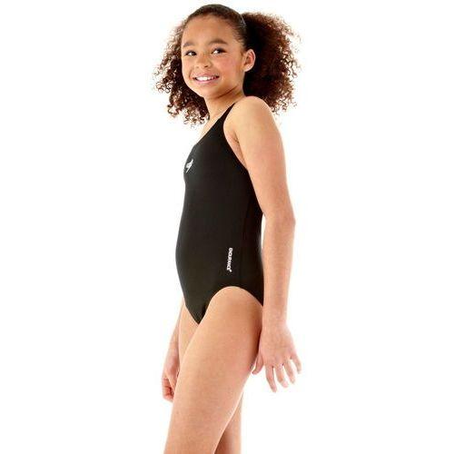 Stroje kąpielowe dla dzieci, speedo Essential Endurance+ Medalist Strój kąpielowy Dzieci czarny 152 Stroje kąpielowe