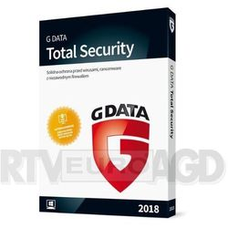 G Data Total Security 2018 1PC/12m-cy BOX