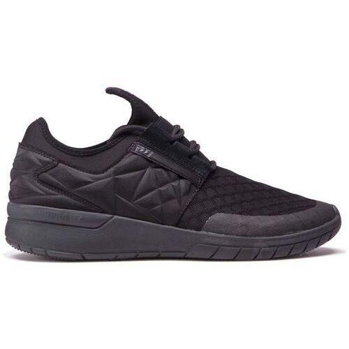 Obuwie sportowe dla mężczyzn, buty SUPRA - Flow Run Evo Black/Black (001) rozmiar: 44.5
