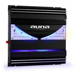 Auna AMP-CH02 2-kanałowy wzmacniacz samochodowy 190W RMS 1400W max.