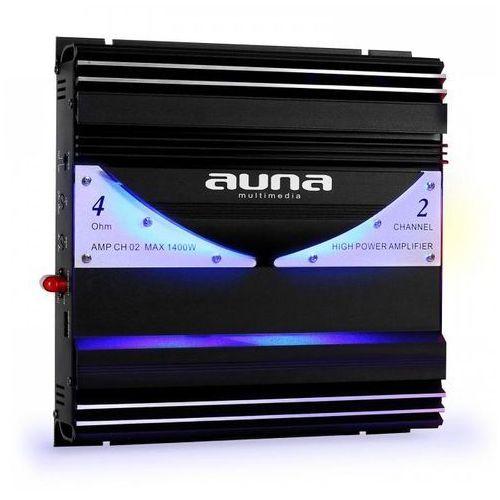 Wzmacniacze samochodowe, Auna AMP-CH02 2-kanałowy wzmacniacz samochodowy 190W RMS 1400W max.