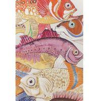 Obrazy, KARE Design:: Obraz Touched Fish Meeting One 100x70cm - wzór 1 Powrót do szkoły 2018 -20% (-20%)