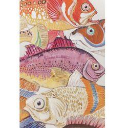KARE Design:: Obraz Touched Fish Meeting One 100x70cm - wzór 1 Powrót do szkoły 2018 -20% (-20%)