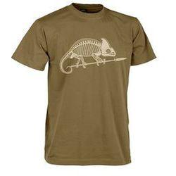 t-shirt Helikon szkielet kameleona coyote (TS-SKC-CO-11)