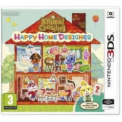 Animal Crossing: Happy Home Designer + Karta amiibo Gra Nintendo 3DS NINTENDO