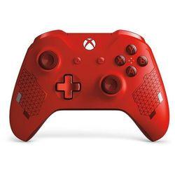 Microsoft Xbox One S Gamepad, Sports Red