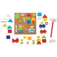 Pozostałe zabawki, Hammer and nail set, city