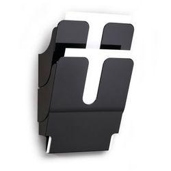 Pojemniki na dokumenty pionowe A4 FLEXIPLUS 2 szt. czarne 17090080 60