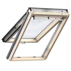 Okno obrotowe GPL 3066 VELUX klapowo-obrotowe z szybą superoszczędną - 78x118