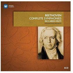 BEETHOVEN: 9 SYMPHONIES & OVERTURES - Muti, Philharmonia Orchestra (Płyta CD)