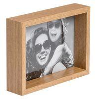 Ramki na zdjęcia, Ramka na zdjęcia Box 13 x 18 cm efekt dębu