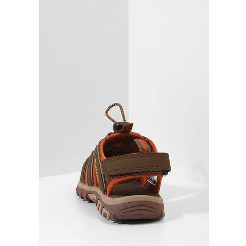 Sandały dziecięce, HiTec COVE Sandały trekkingowe brown/cinnamon/core gold