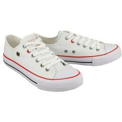 BIG STAR T274022 biały, półtrampki młodzieżowe - Biały