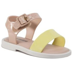 Sandały MELISSA - Mini Melissa Mar Sandal III Bb 32633 Pink/White/Yellow 53612
