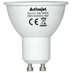 LED SMD AJE-S3710W 600lm 7,5W GU10 barwa ciepła- natychmiastowa wysyłka, ponad 4000 punktów odbioru!