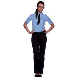 Bluzka damska z krótkim rękawem, rozmiar 44, jasnoniebieska   KARLOWSKY, Juli