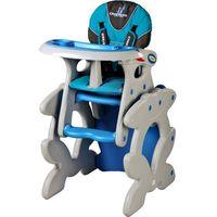 Krzesełka do karmienia, Krzesło do karmienia CARETERO ze stoliczkiem Primus niebieski + DARMOWY TRANSPORT!