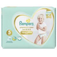 Pieluchy jednorazowe, Pampers Premium Care Pants 5 (12-17 kg) 102 szt. (3x34 szt.)