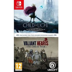 Child of Light and Valiant Hearts Double Pack - Nintendo Switch - RPG