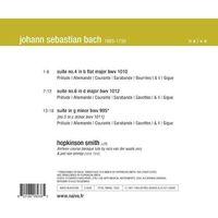 Pozostała muzyka rozrywkowa, BACH SUITES 4,5,6 - Hopkinson Smith (Płyta CD)