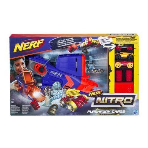 Kolejki i tory dla dzieci, NERF Nitro Flashfury Chaos - Hasbro. DARMOWA DOSTAWA DO KIOSKU RUCHU OD 24,99ZŁ